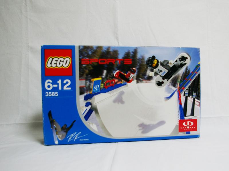 #3585 レゴ スノーボードスーパーパイプ