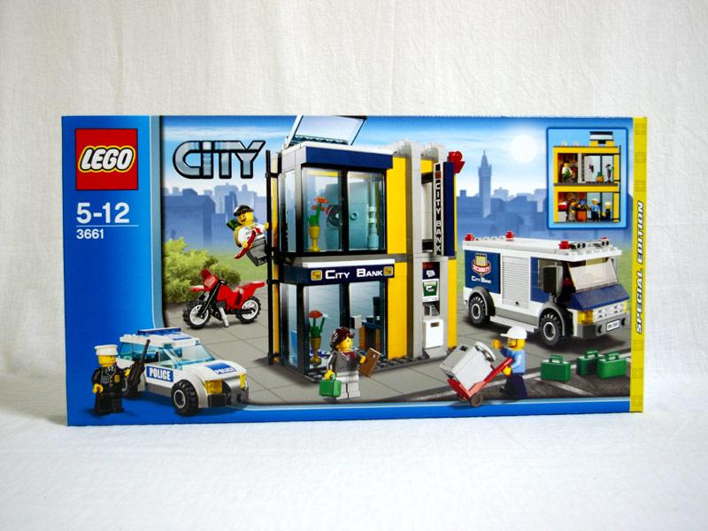 #3661 レゴ 銀行と現金輸送車