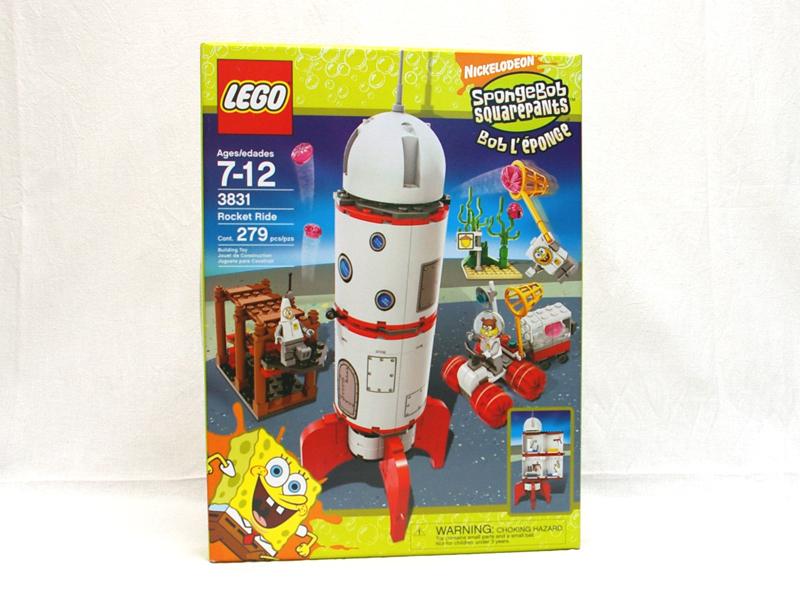 #3831 レゴ ロケット・ライド
