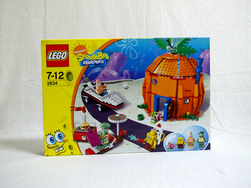 #3834 レゴ ビキニボトムの隣人たち