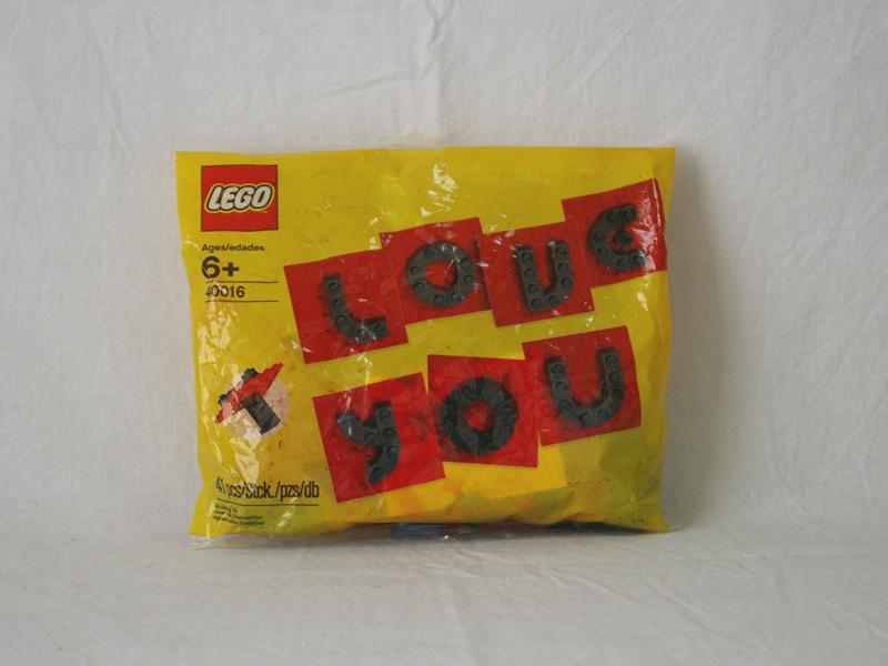 #40016 レゴ バレンタインレターセット