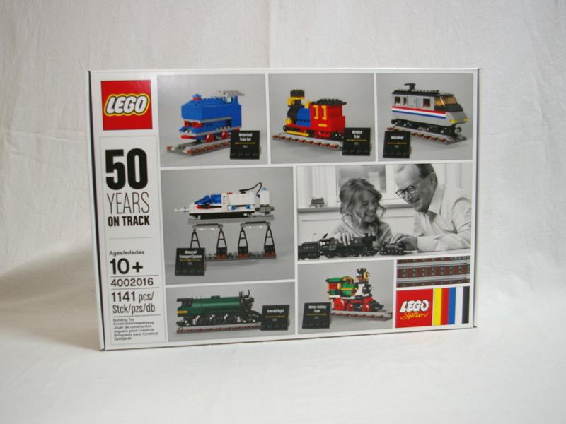 #4002016 レゴ トレイン50周年記念セット
