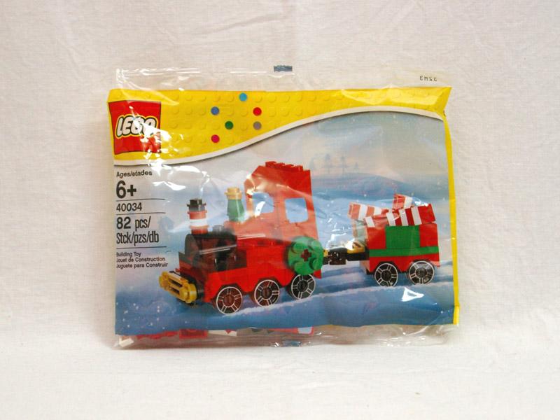 #40034 レゴ クリスマストレイン