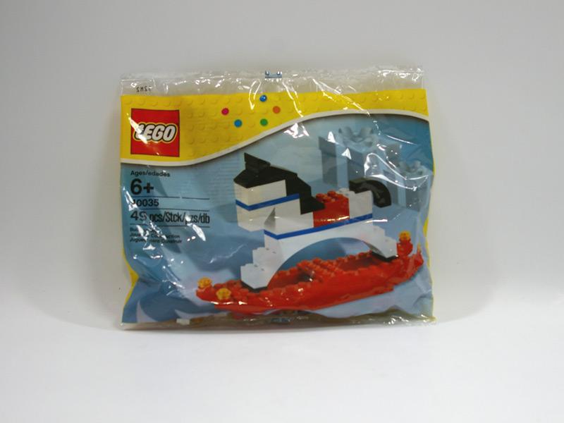 #40035 レゴ 揺り木馬