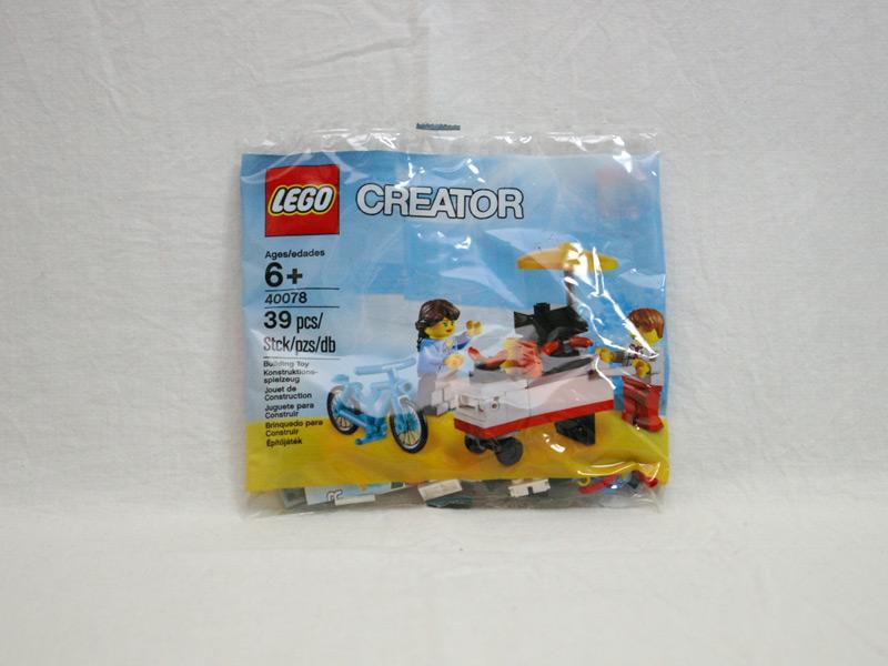 #40078 レゴ ホットドッグカート