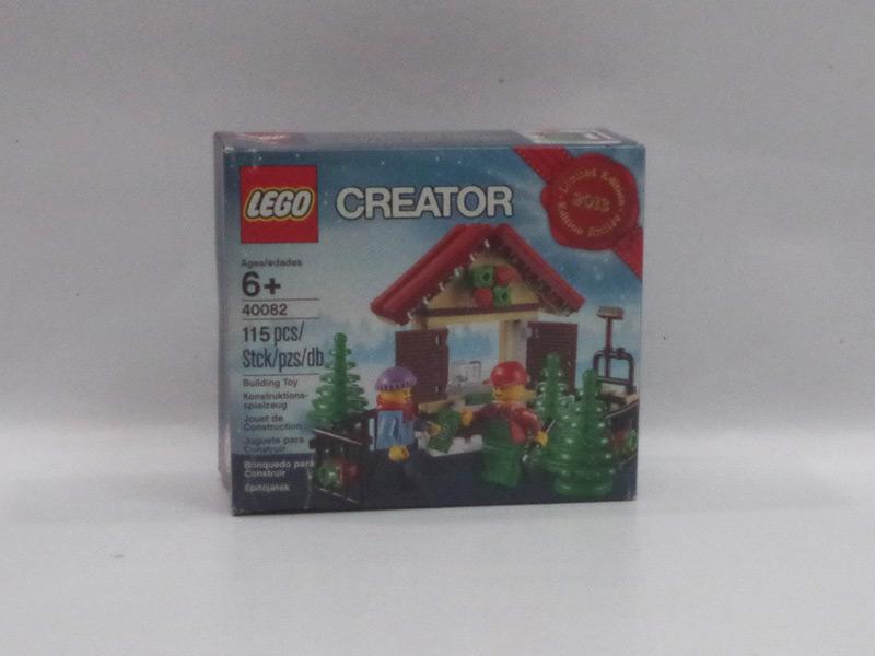 #40082 レゴ クリスマスツリー屋さん