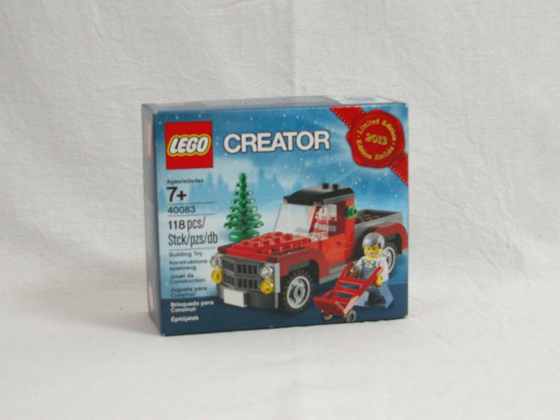 #40083 レゴ クリスマストラック