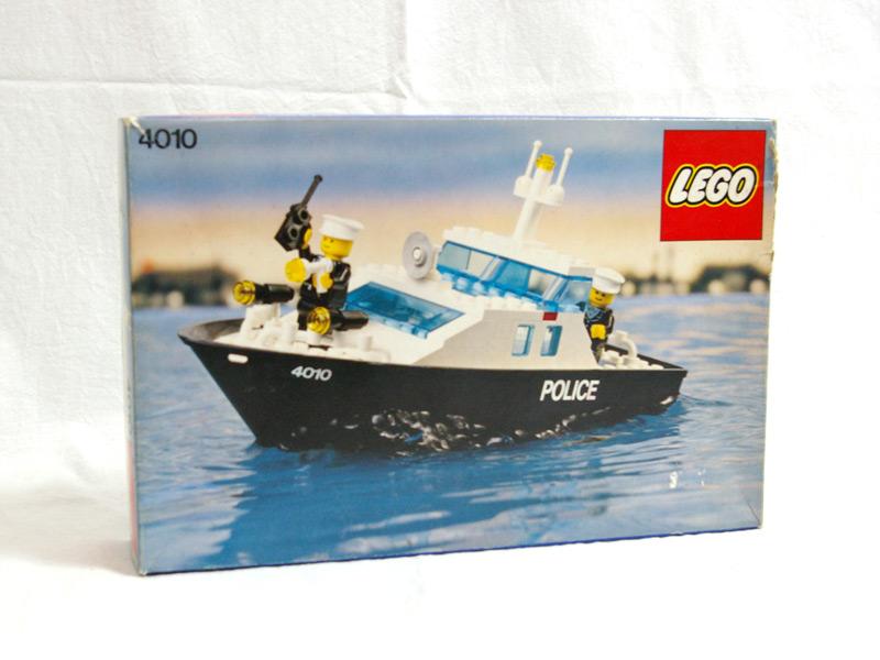 #4010 レゴ パトロール艇