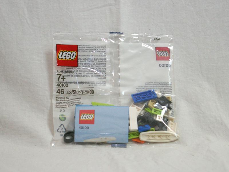 #40100 レゴ ビーチ・バン