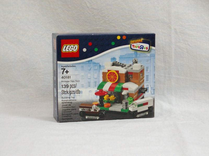 #40181 レゴ ミニモジュール ピザ屋さん