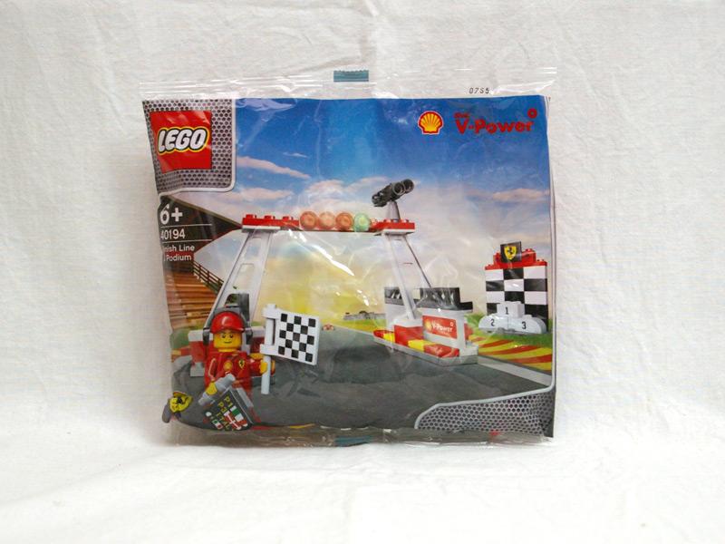 #40194 レゴ フィニッシュライン&ポディウム