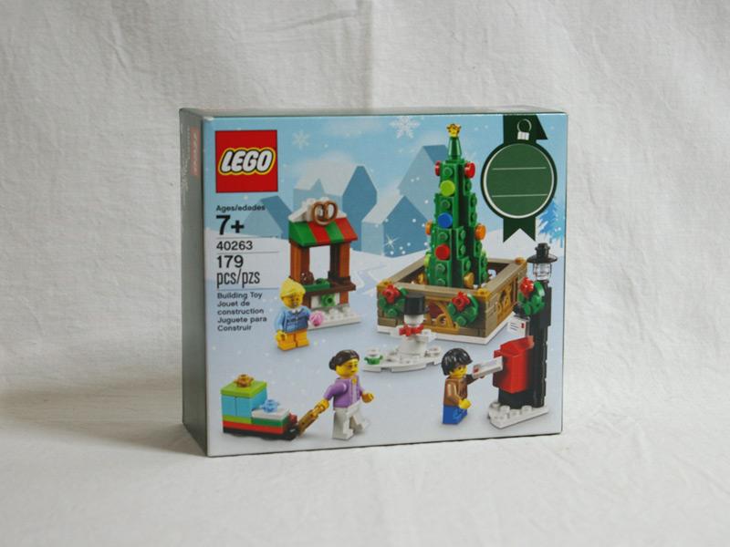 #40263 レゴ クリスマス・タウン・スクエア