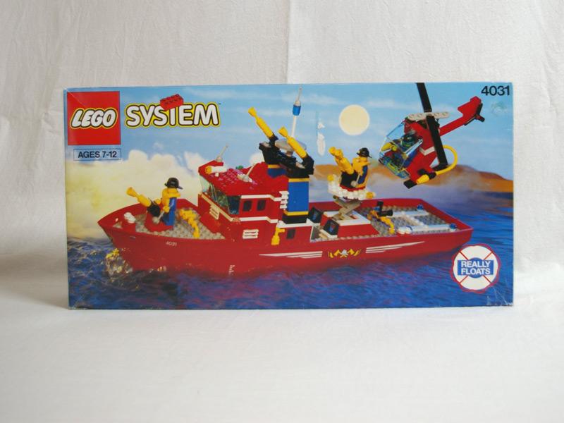 #4031 レゴ 消防艇