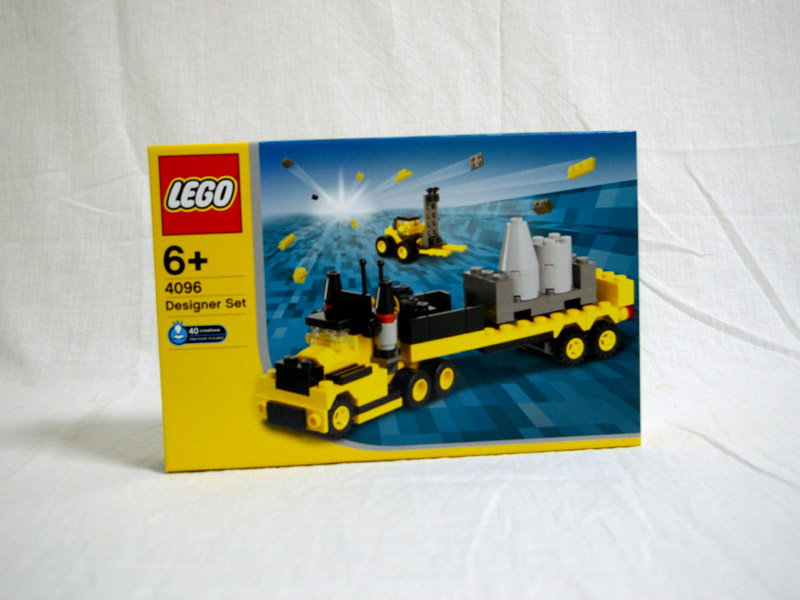 #4096 レゴ カーデザイナー(小)