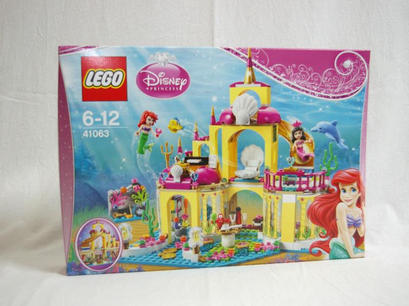 #41063 レゴ プリンセス アリエルの海の宮殿