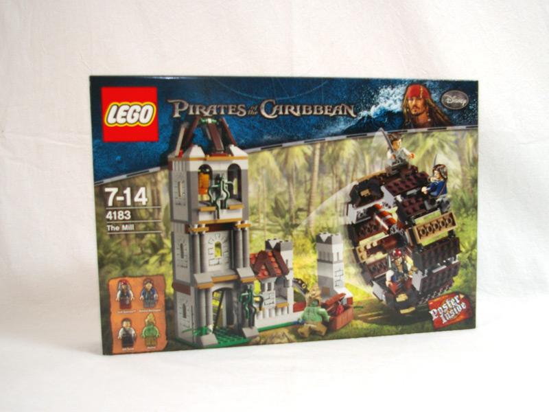 #4183 レゴ 水車小屋の決闘