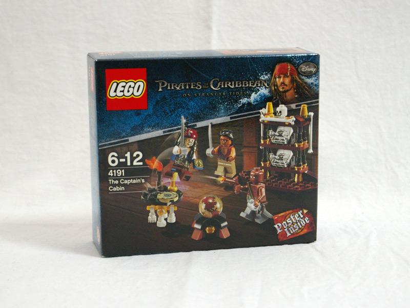 #4191 レゴ 船長のキャビン