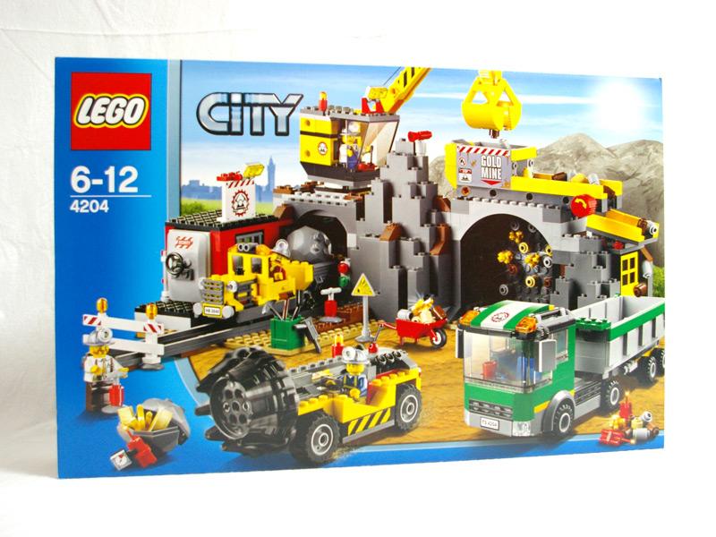 #4204 レゴ ゴールドマイナー ゴールドマイナーベース