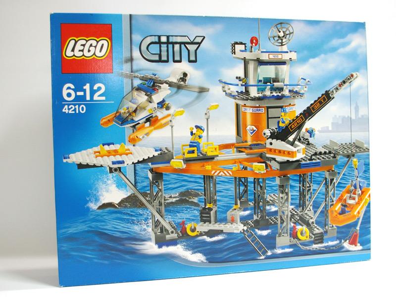 #4210 レゴ 海上コーストガード基地