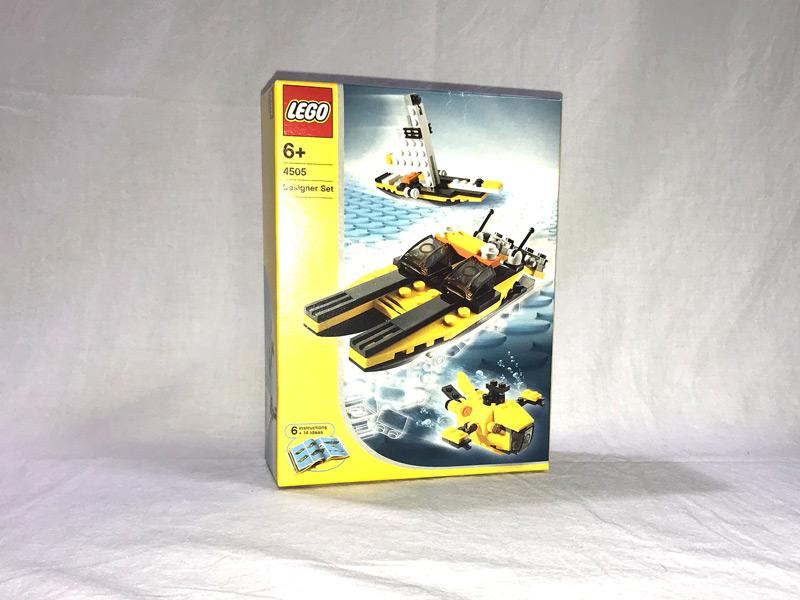 #4505 レゴ 海の乗り物デザイナー