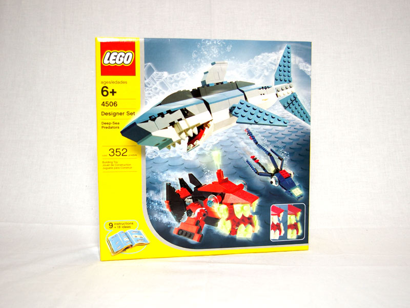 #4506 レゴ 海の生き物デザイナー