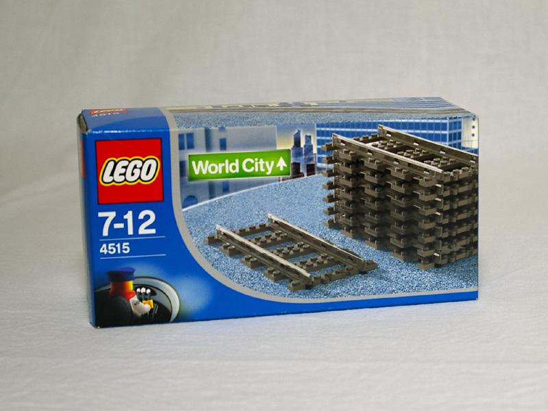 #4515 レゴ 9V直線レール