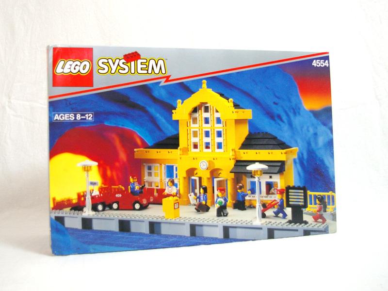 #4554 レゴ 黄色い駅