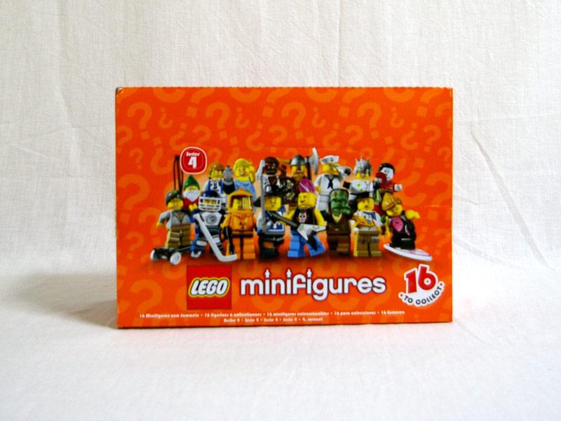 #4614586 レゴ ミニフィギュアシリーズ Vol.4(60個)