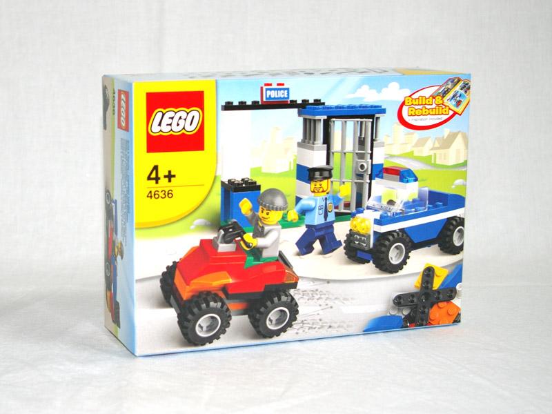 #4636 レゴ ポリスカーとろうや