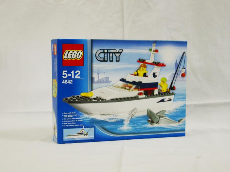 #4642 レゴ フィッシングボート