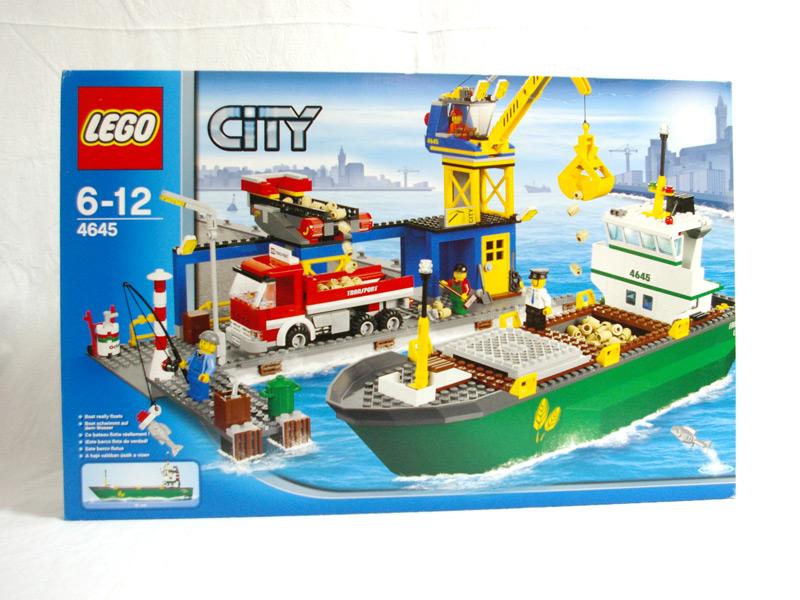 #4645 レゴ コンテナ船とハーバー