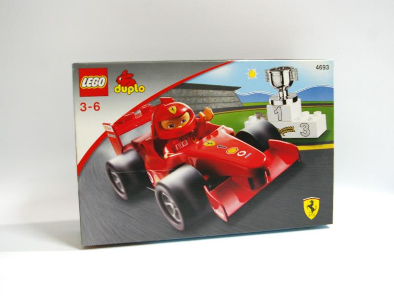 #4693 デュプロ フェラーリF1レースカー