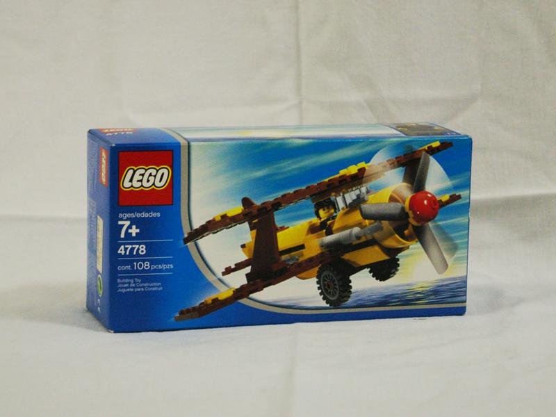 #4778 レゴ 砂漠の複葉機