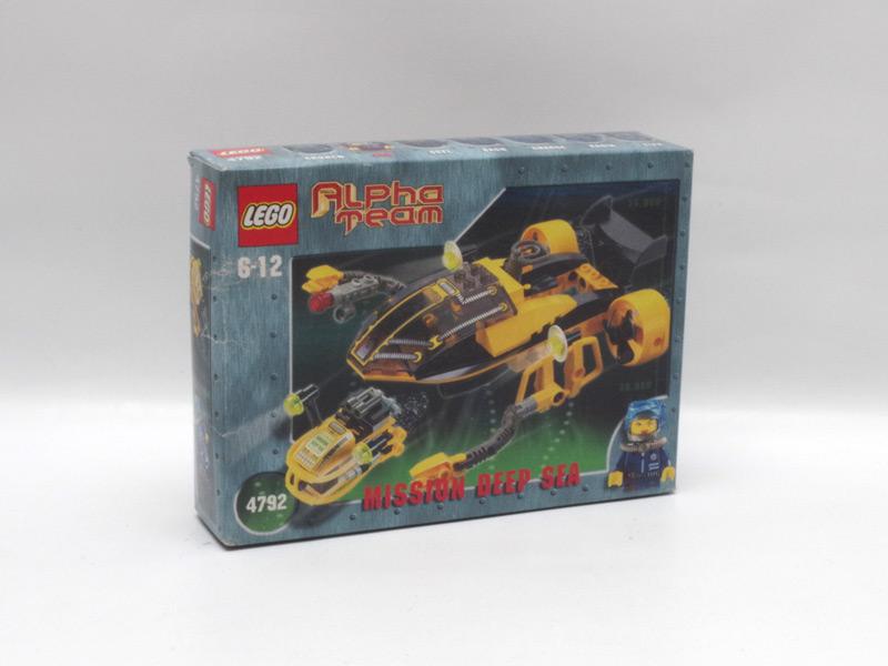 #4792 アルファチーム 深海探査ロボ