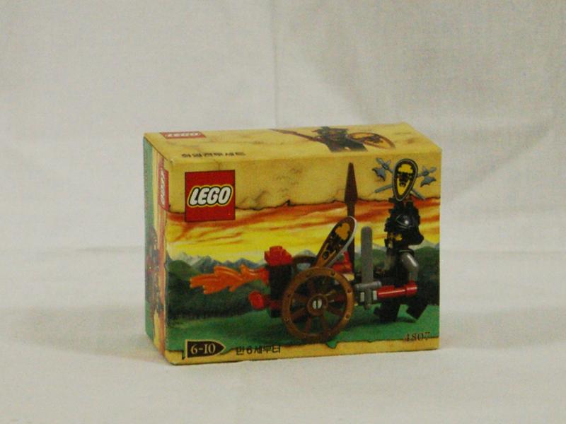 #4807 レゴ ブルのファイヤーアタッカー