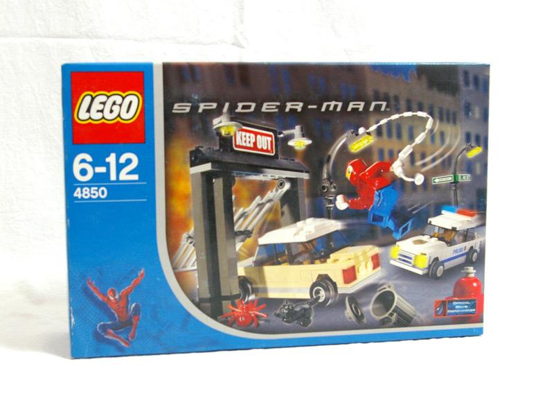 #4850 レゴ レゴ スパイダーマン怒りの追跡