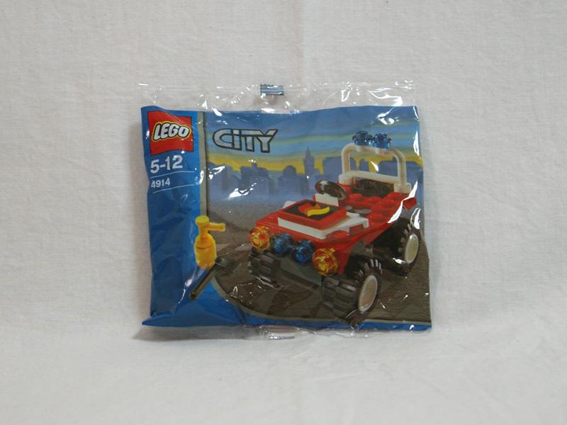 #4914 レゴ 消防署長の車