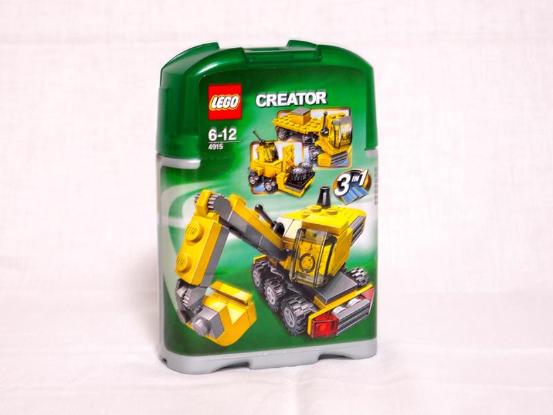 #4915 レゴ ミニ工事車両