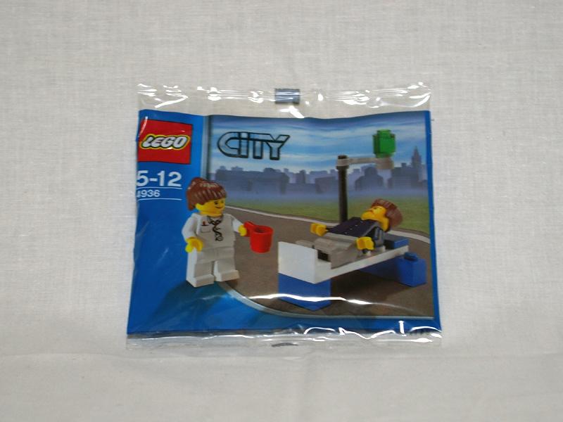 #4936 レゴ お医者さんと患者