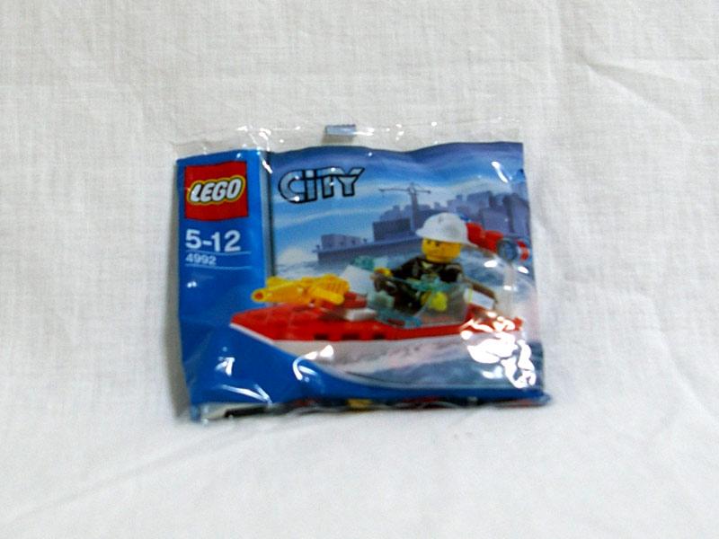 #4992 レゴ 消防ボート