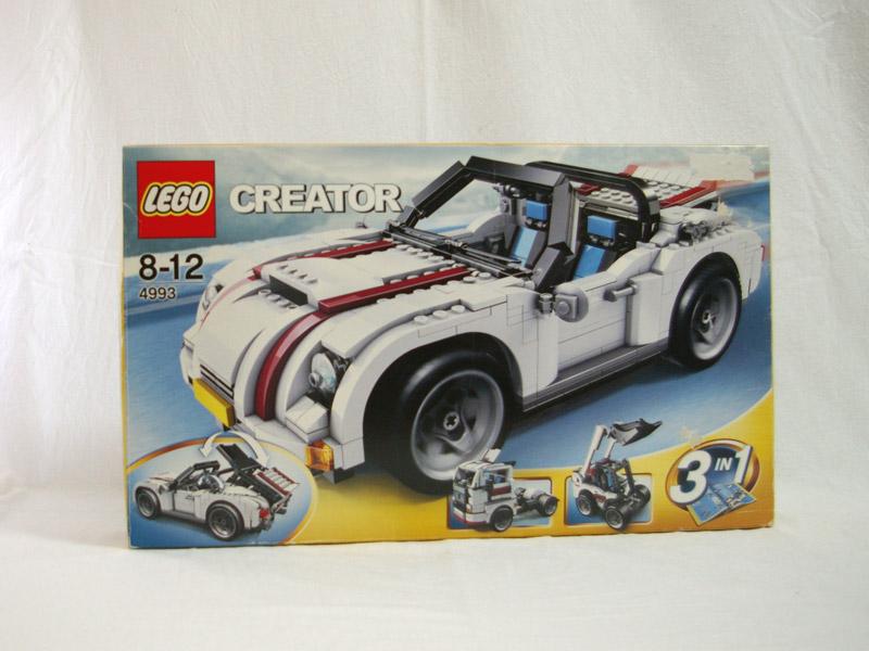 #4993 レゴ オープンカー