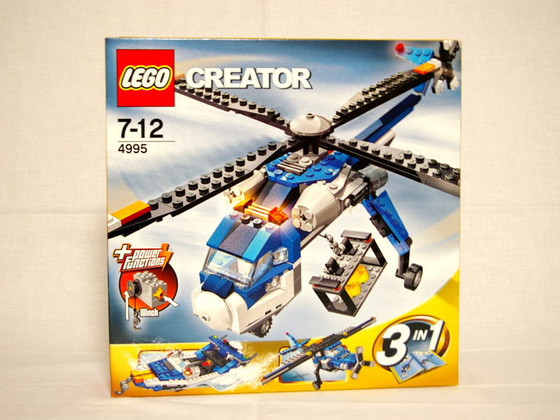 #4995 レゴ カーゴヘリ