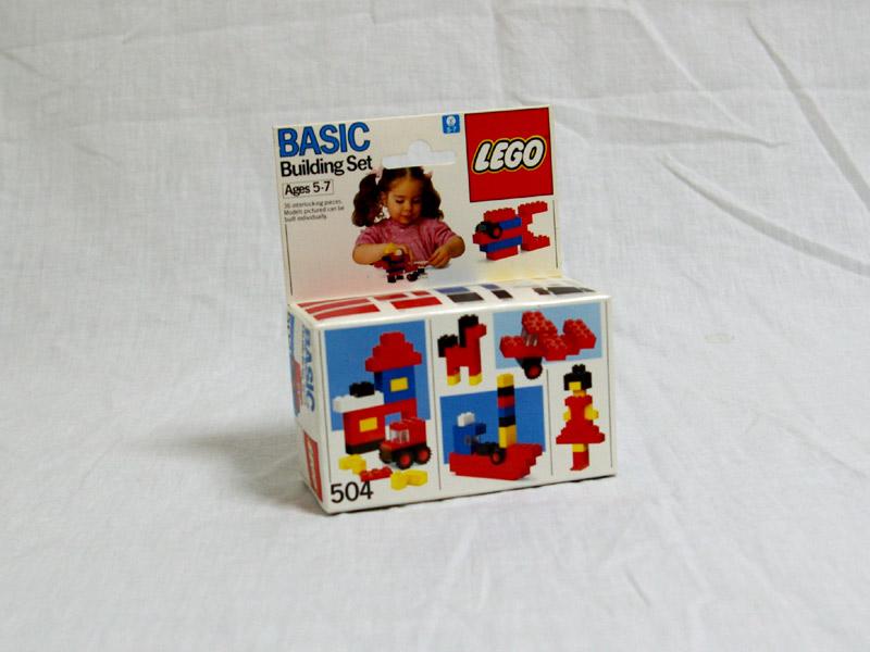 #504 レゴ 組立基本セット