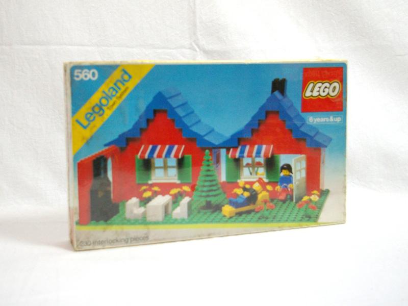 #560 レゴ タウンハウス