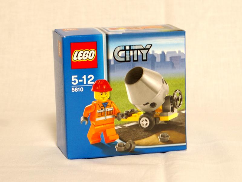 #5610 レゴ コンクリートミキサー