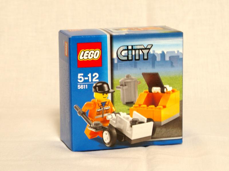 #5611 レゴ 清掃係り