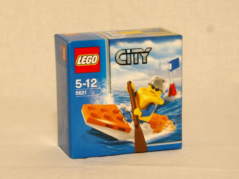 #5621 レゴ ハーバーレンジャーのカヤック