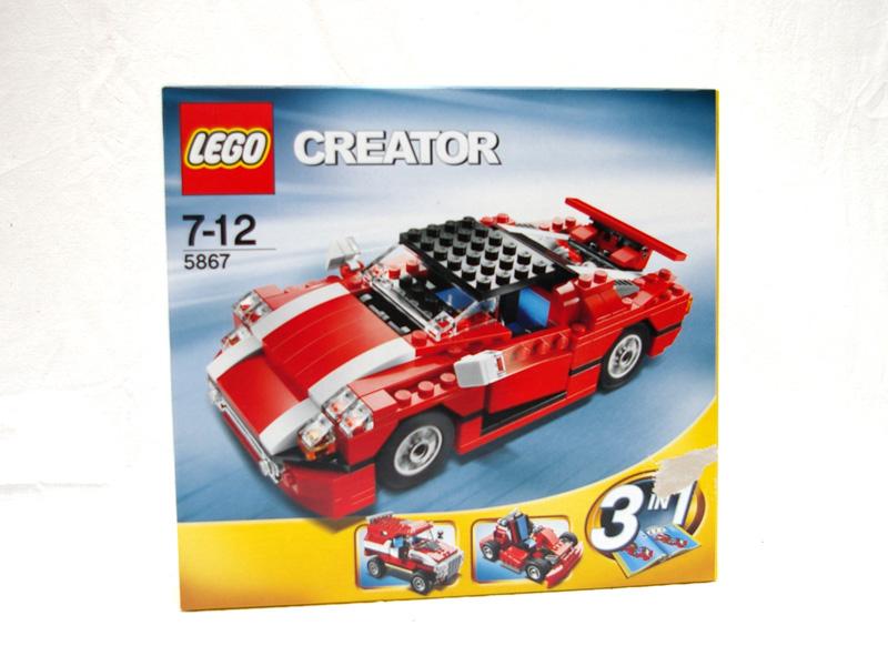#5867 レゴ スーパースピードスター