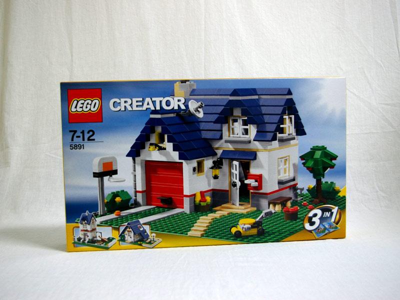 #5891 レゴ マイホーム