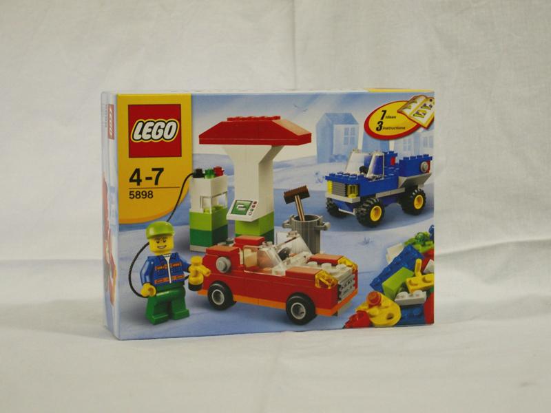 #5898 レゴ ガソリンスタンド